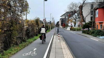 Willkommen auf dem Radweg!