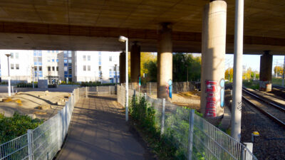 Verbesserung der Fahrradinfrastruktur im Rahmen der geplanten Baumaßnahmen am Tausendfüßler (A565)