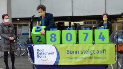 28.074 Unterschriften für eine lebenswerte Stadt